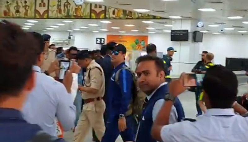 Mahi Aa Raha Hai! MS Dhoni arrives in style at home town Ranchi ahead of 3rd ODI vs Australia