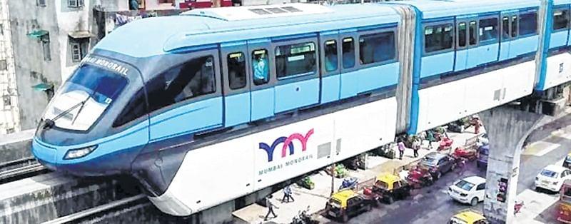 MMRDA warns public: Beware of high voltage monorail beams