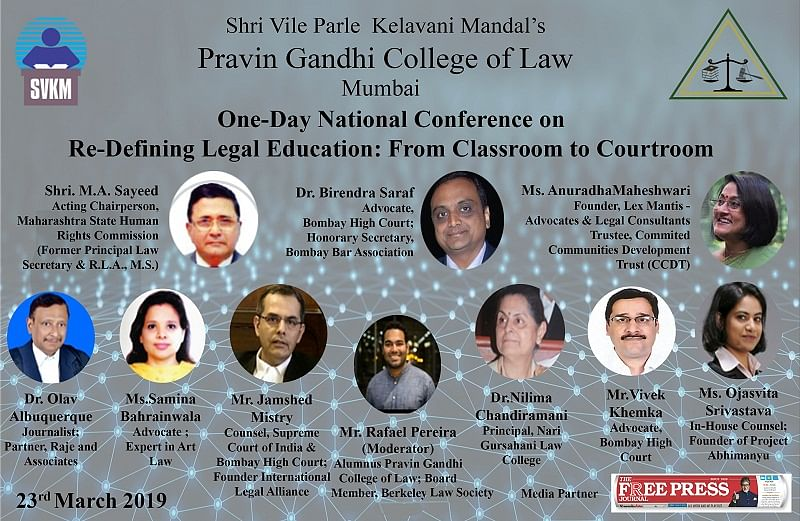One-day National Conference on Re-defining Legal Education in India: From Classroom to Courtroom