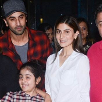 Happiest birthday to 'Iron Lady': Riddhima, Ranbir Kapoor host birthday dinner for mom Neetu; see pics