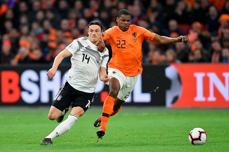 Germany beat Netherlands in Euro 2020 qualifier