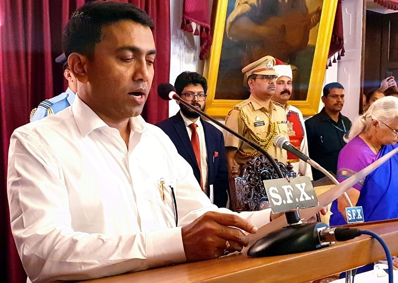 Govt to e-auction iron ore dumps lying in Goa: Pramod Sawant