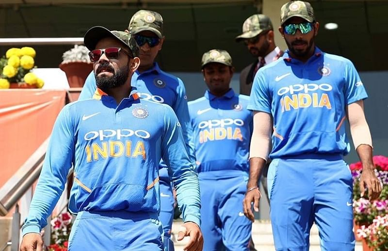 BCCI was granted permission to wear camouflage caps: ICC
