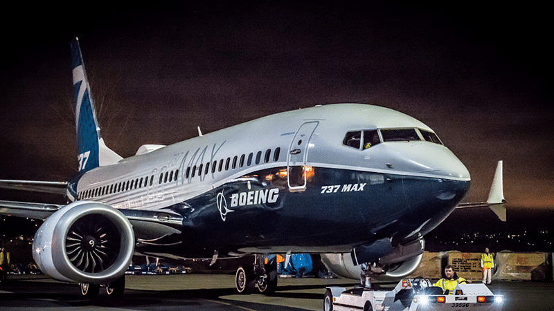 Boeing 737 MAX jet aircrafts