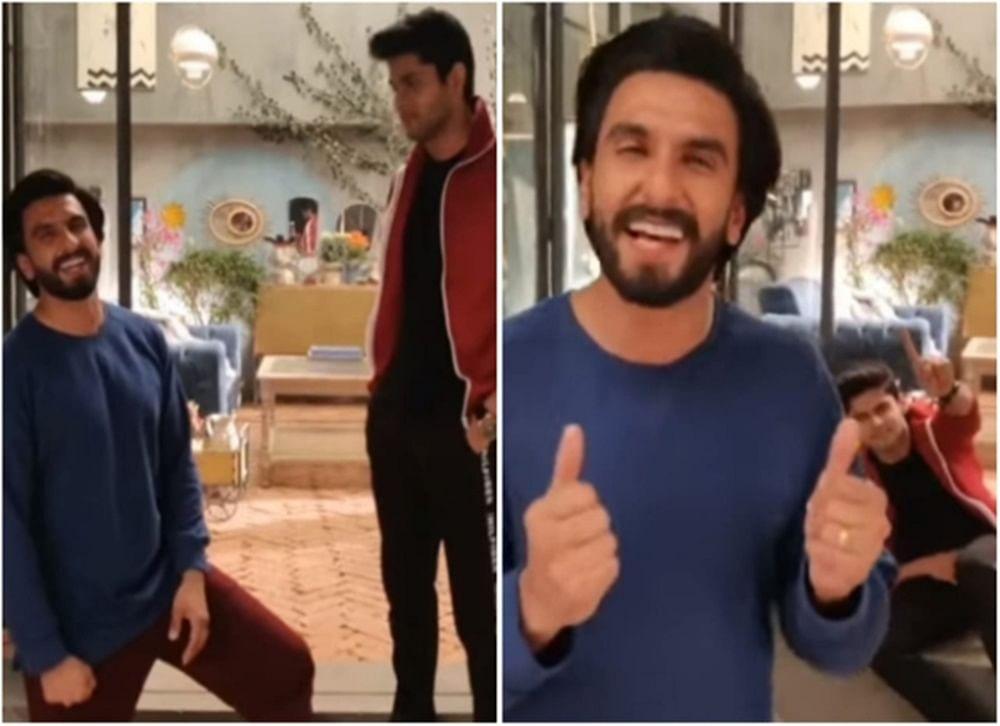 This video of Ranveer punching 'Mard Ko Dard Nahi Hota' debutante Abhimanyu will make you go ROFL