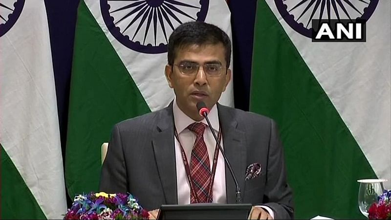 No Indian in China affected by coronavirus outbreak, says MEA Raveesh Kumar