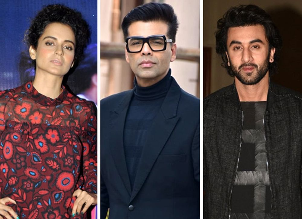 Did Kangana Ranaut just accuse Karan Johar and Ranbir Kapoor for leaking her horse video?