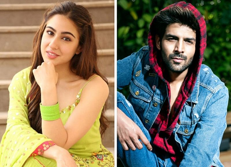 Leaked! Sara Ali Khan and Kartik Aaryan share a steamy kiss for Love Aaj Kal 2? Watch Video