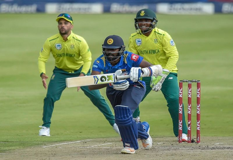 Sri Lanka lose 3rd T20I to South Africa by 45 runs, whitewashed 3-0