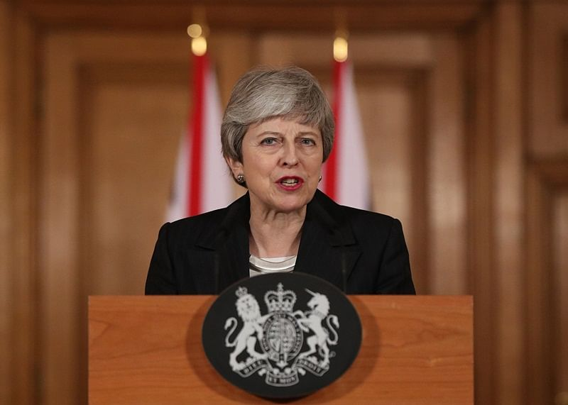 UK's Theresa May under pressure to drop Brexit talks
