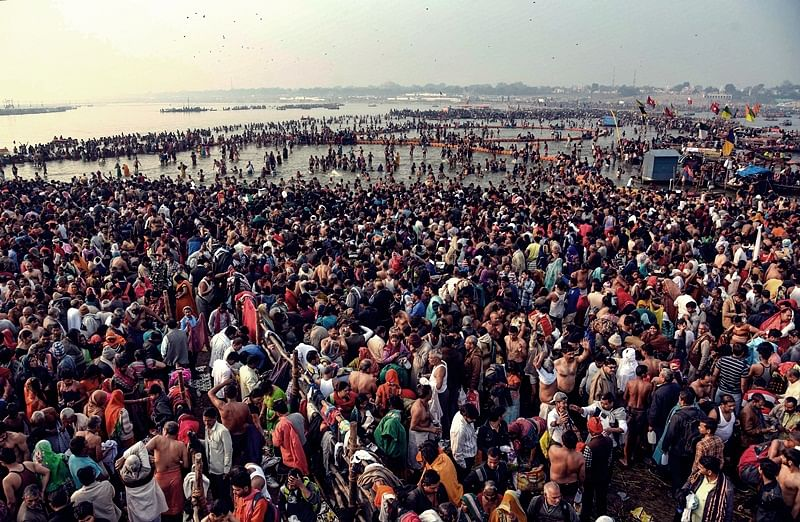 The Kumbh Mela: Lost and engrossed