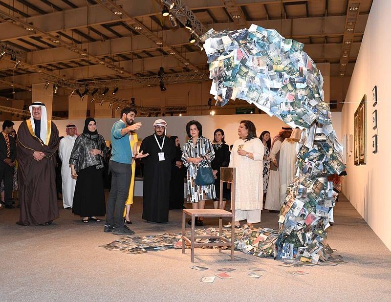 Art Bahrain Across Borders: A captivating canvas