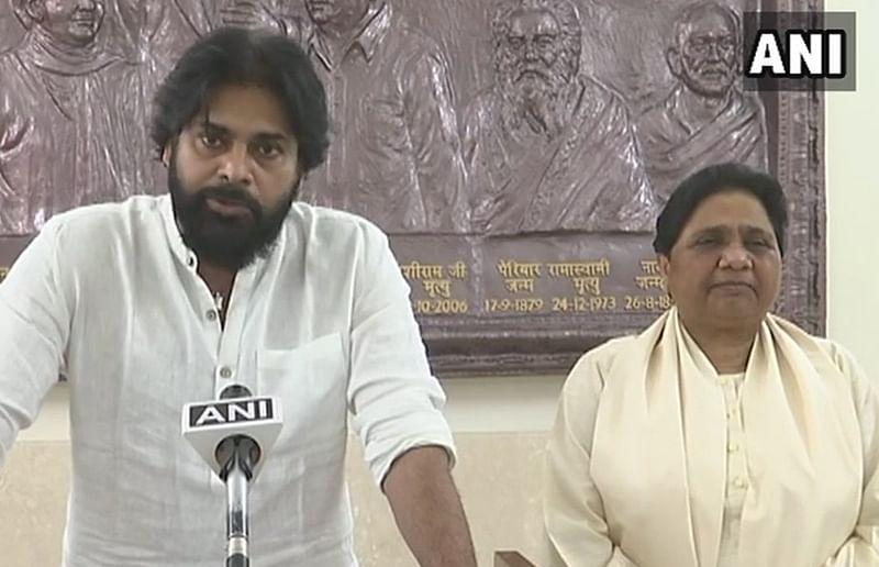 Want Pawan Kalyan to become Andhra Pradesh CM: Mayawati as BSP, Jana Sena form poll alliance