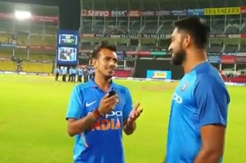 India vs Australia: After last over, Vijay Shankar found himself under even more pressure on Chahal TV, watch video