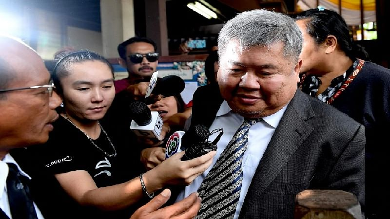 Thai tycoon faces verdict in black leopard poaching case