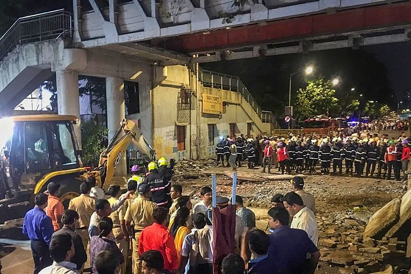 Mumbai: After collapse, the usual suspensions