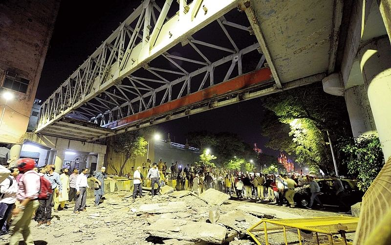 CSMT FOB collapse: Court rejects bail to audit firm director