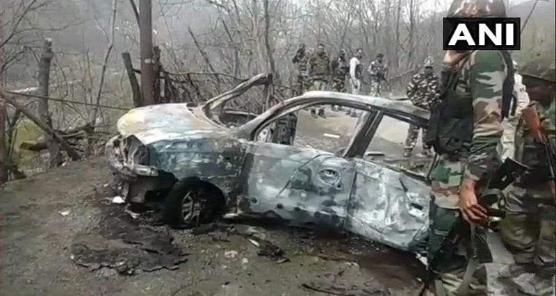 Car explodes on Jammu-Srinagar highway, no one injured