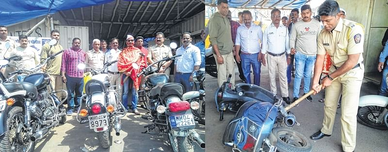 Thane: Unwelcome blessings for noisy bikers