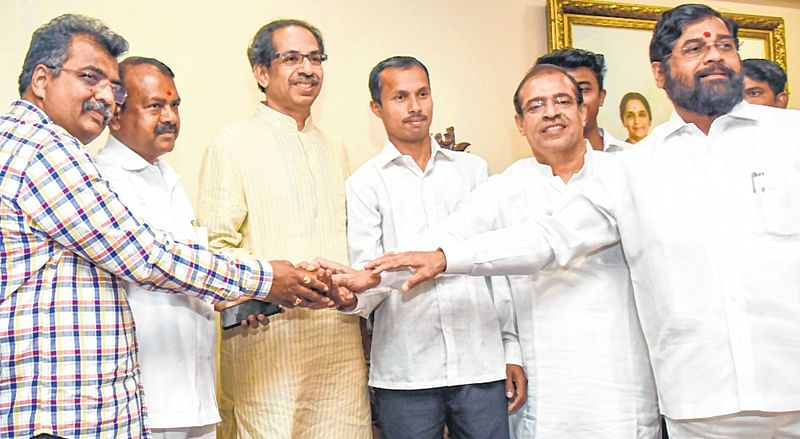 BJP MP Rajendra Gavit joins Shiv Sena