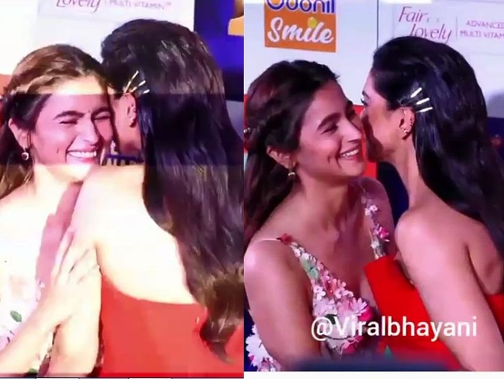 This video of Deepika, Alia beaming with joy on seeing each other is screaming BFF