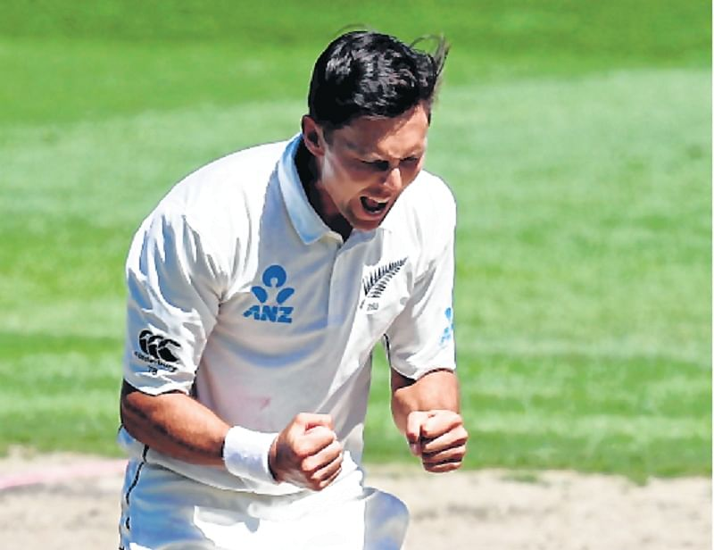 Trent Boult delivers the final blow