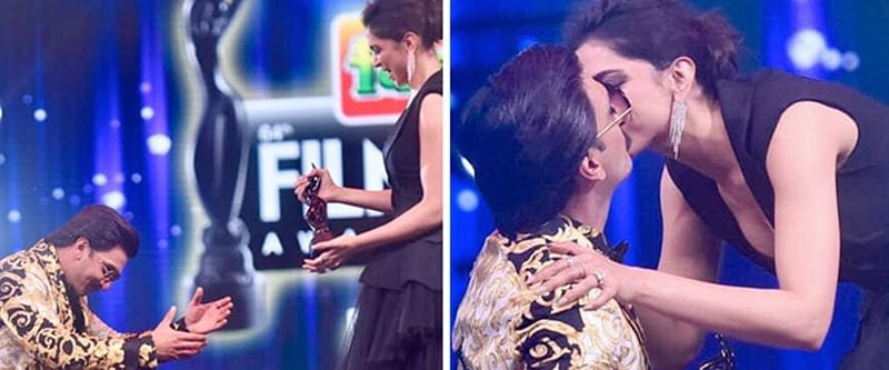Filmfare Awards 2019: Deep-Veer fans couldn't keep calm after they saw Deepika KISS Ranveer Singh on stage