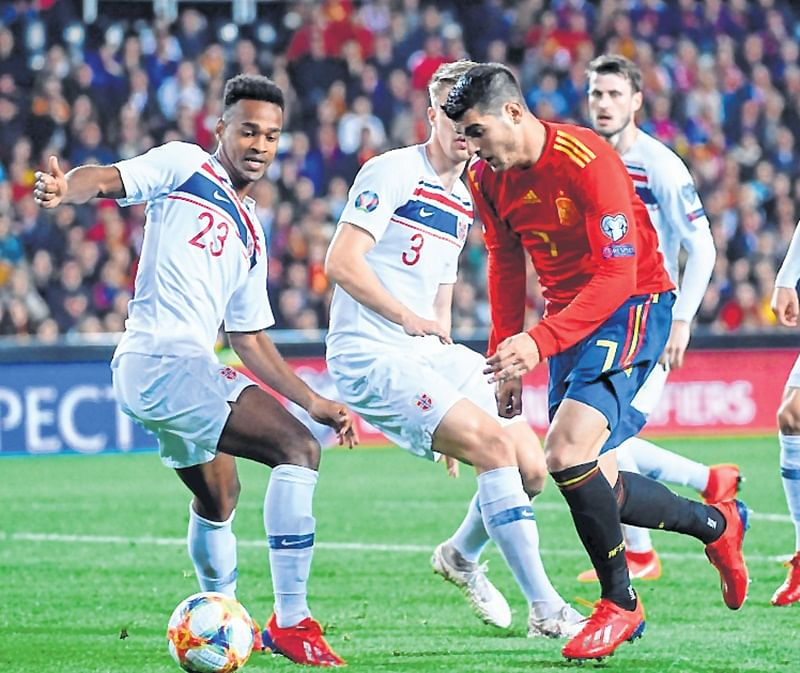 Euro 2020: Spain begin on a positive note