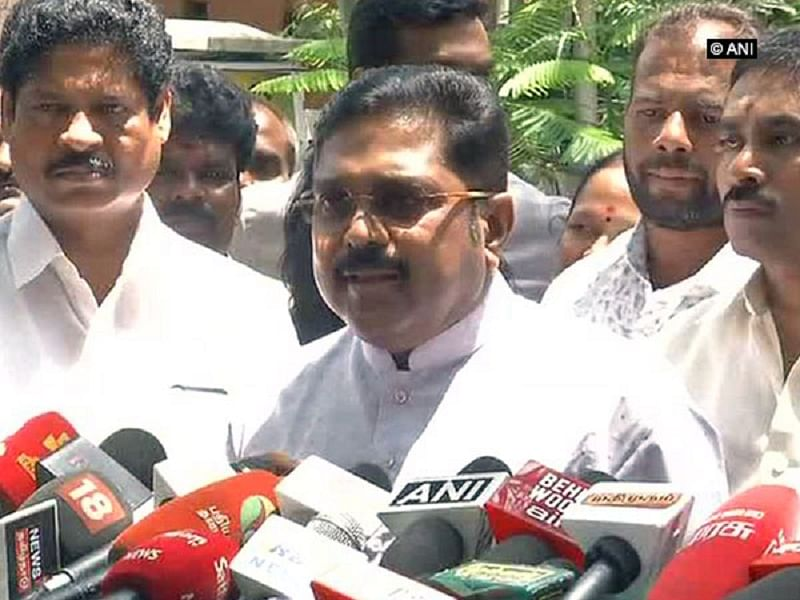 Tamil Nadu: Dhinakaran-led AMMK releases first list of candidates for Lok Sabha elections 2019