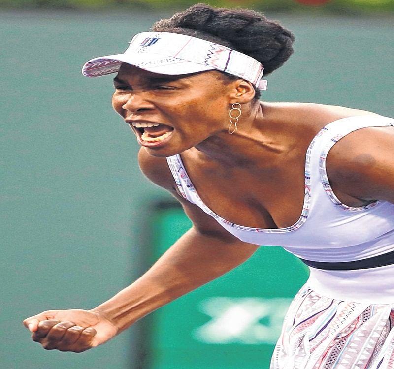 Indian Wells: Venus Williams fights past frustrated Petra Kvitova; Osaka clears stage 1