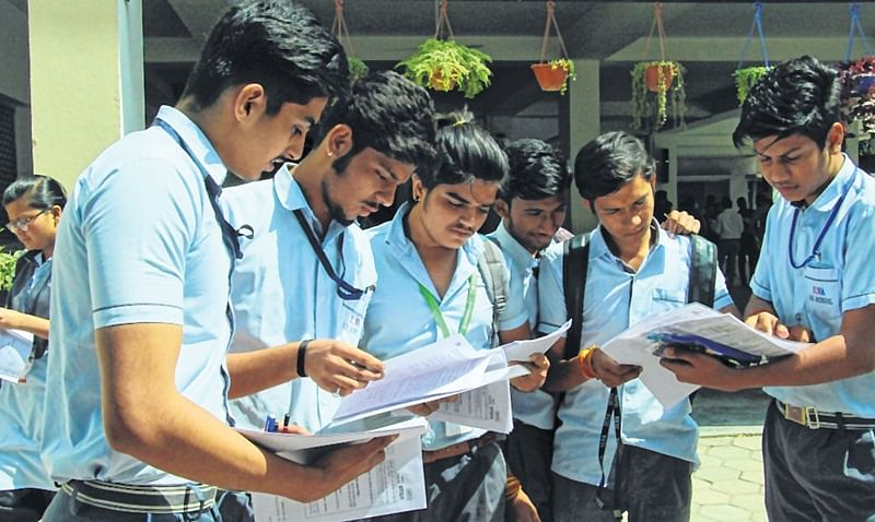 Exams over: Relaxed students upbeat