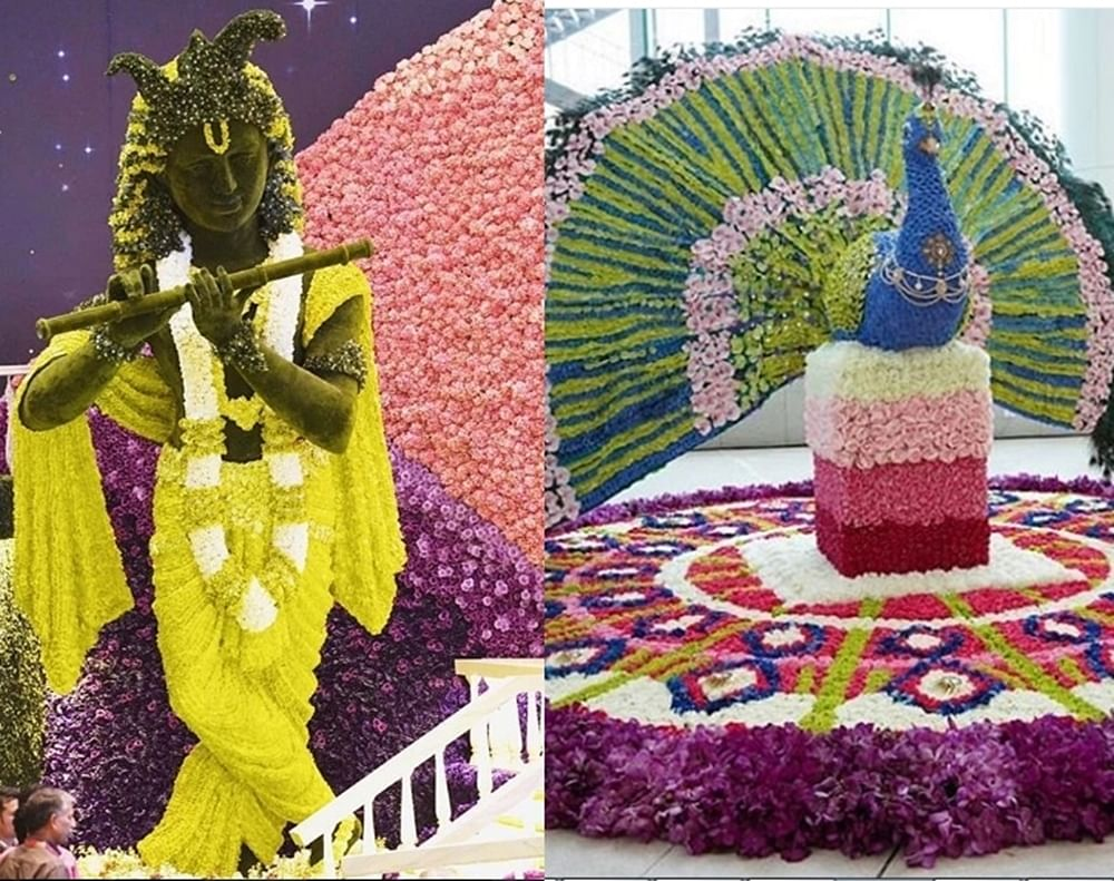 Decked up with flowers, Akash Ambani-Shloka Mehta's wedding venue is straight out of a fairy tale; see pics