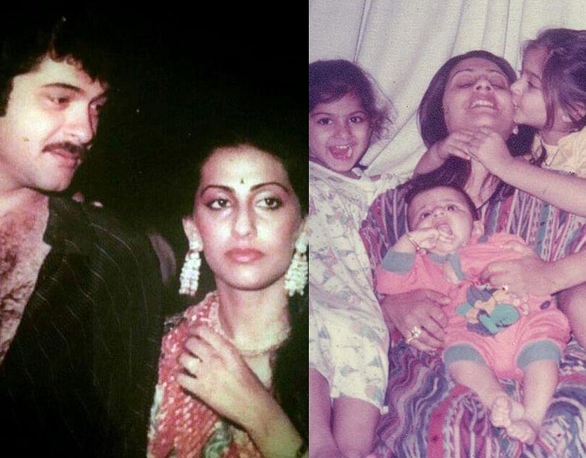 Anil Kapoor, Sonam K Ahuja share throwback pictures on Sunita Kapoor's birthday