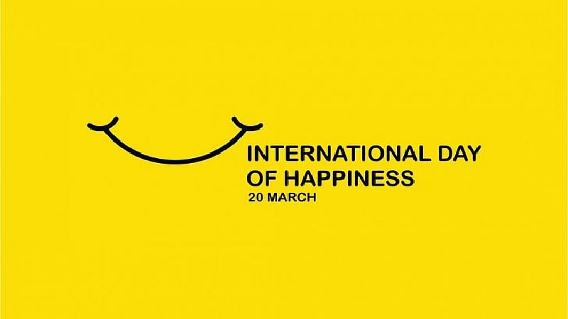 International Day of Happiness: Lets enjoy happiness together
