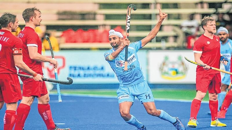 Sultan Azlan Shah Cup: Mandeep stars in India's win