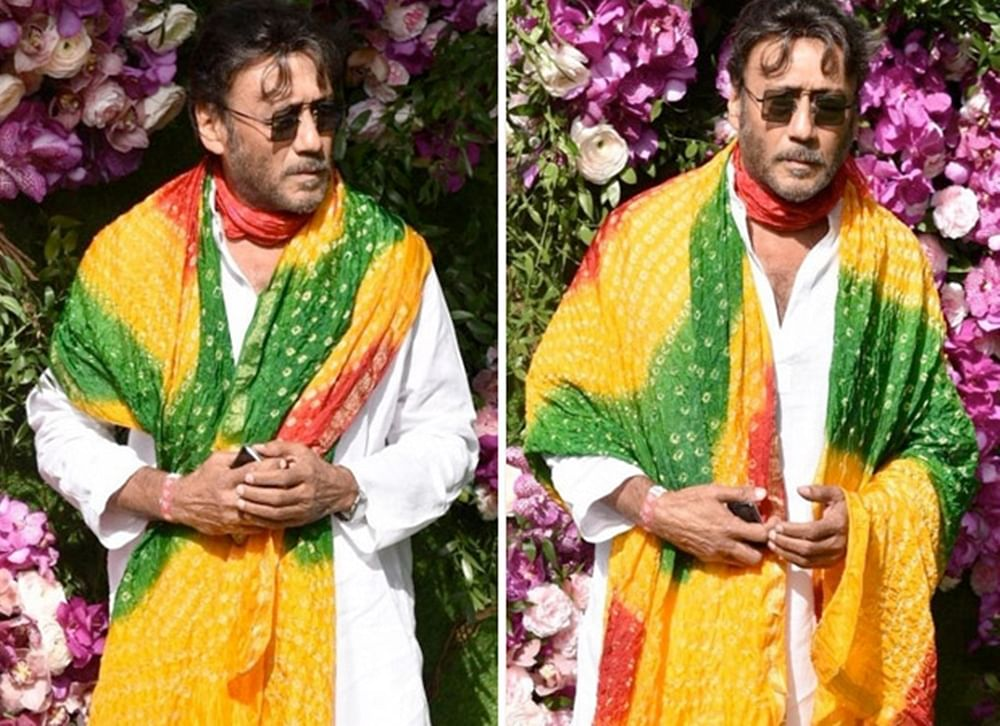 Akash Ambani – Shloka Mehta Wedding: Jackie Shroff's 'Rangeela' avatar goes viral; sends Twitter into a tizzy