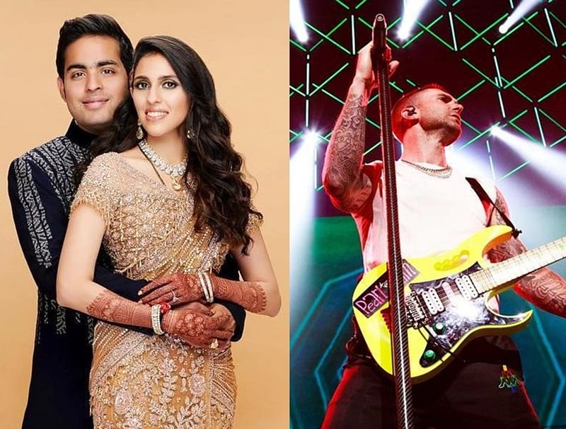 Rs 3.5 Crore! That's the cost of 'Maroon 5' for performing at Akash Ambani-Shloka Mehta's wedding