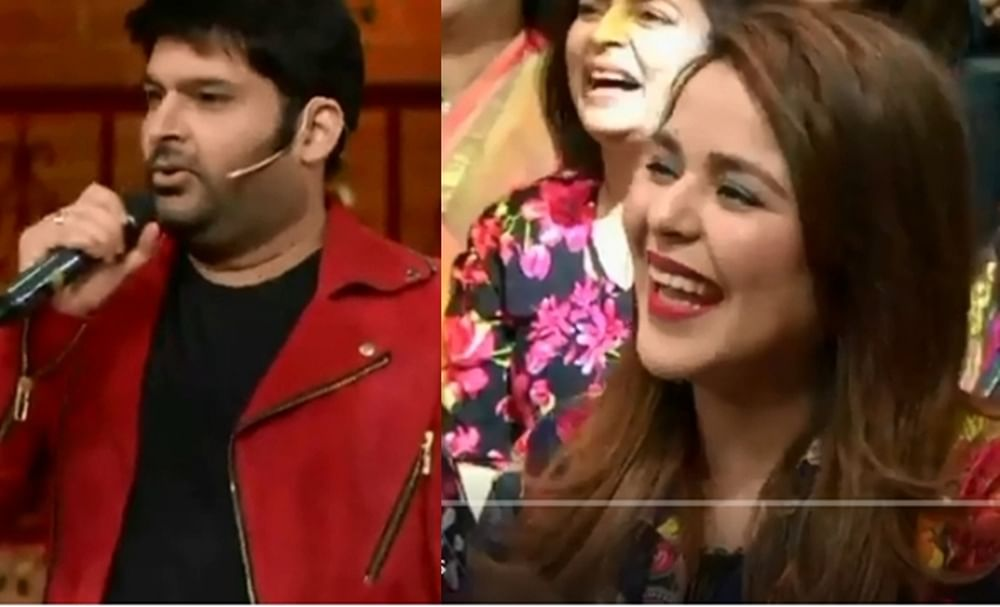 Meri Hansini! Kapil Sharma sings for wife Ginni Chatrath on 'TKSS'; watch video