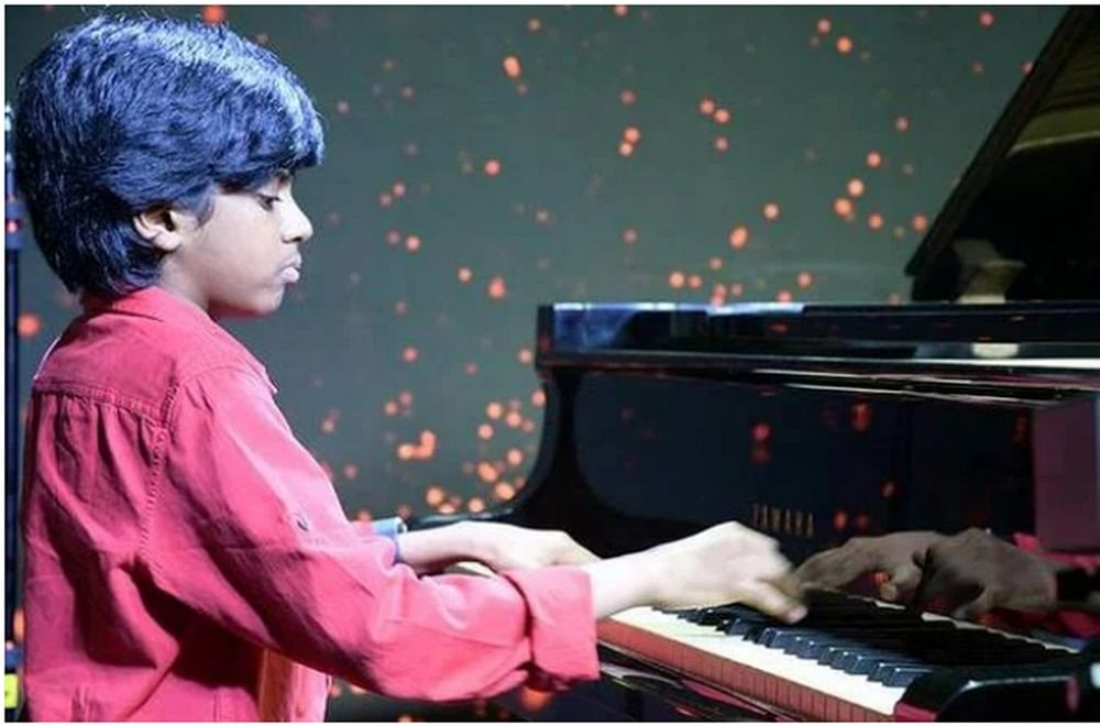 13-year-old Indian musical prodigy wins 1 million dollars on 'The World's Best' show