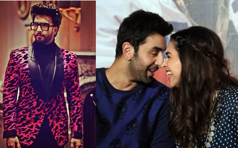 Was Ranveer ever insecure when Deepika worked with ex-flame Ranbir Kapoor? Check out his reaction