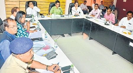 Ujjain: Cleanliness review meet held