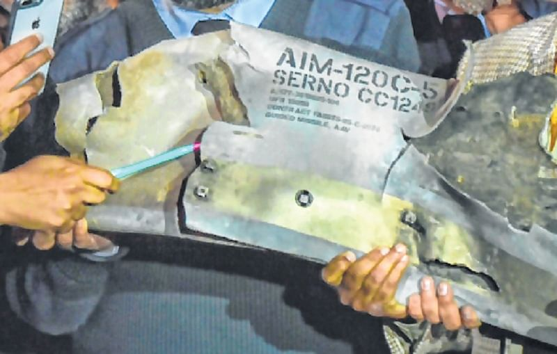 India shares F-16 evidence with US
