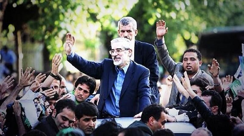 Pic of Iran opposition leader shared despite ban