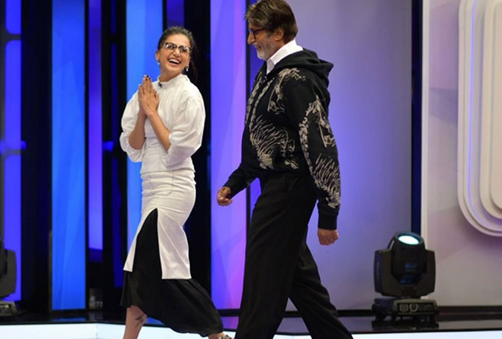 Taapsee Pannu shares a heartfelt post for her 'Badla' co-star Amitabh Bachchan