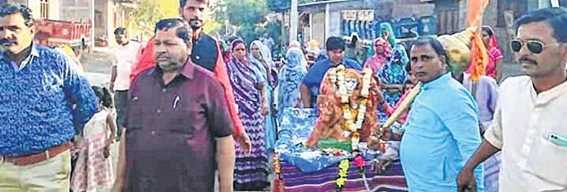 Ujjain: VHP, BD workers reinstate goddess' idol