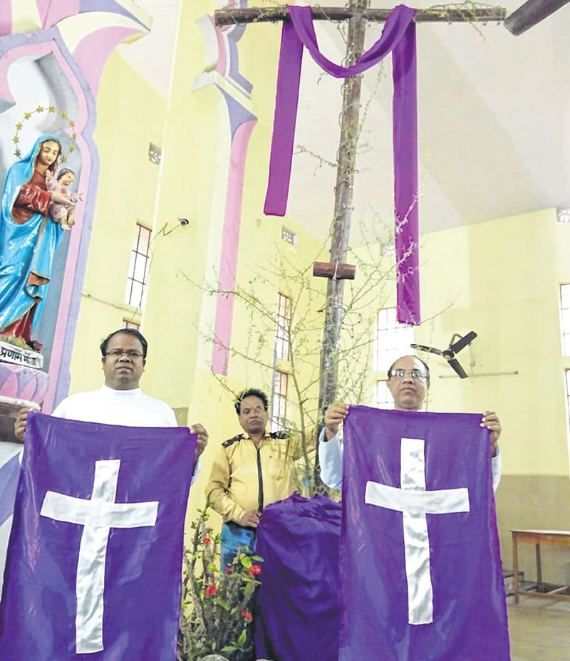 Indore: Lent season begins with Ash Wednesday today