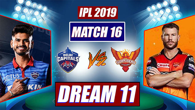 IPL 2019 DC vs SRH Match 16: FPJ's playing XI, Dream 11 For Delhi Capitals And Sunrisers Hyderabad