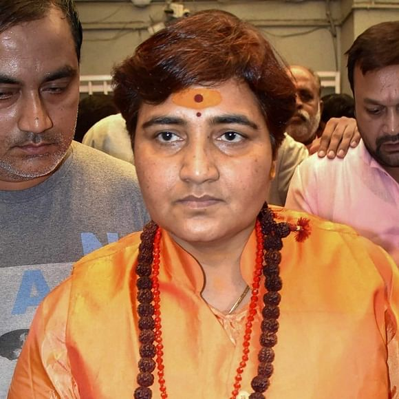 Brutal killing of Kamlesh Tiwari great shock to 'desh dharm Hindutva': Sadhvi Pragya