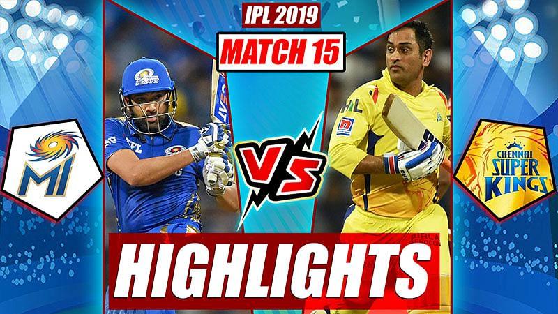 Mi vs Csk HIGHLIGHTS, IPL 2019 Match 15   Turning Points