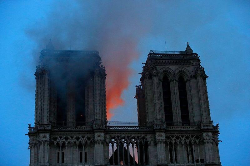 Notre Dame fire raises an alarm for dangers of lead dust